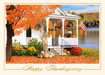 Americana Thanksgiving Cards